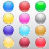 di bottoni colorati Multi Fotografia Stock Libera da Diritti