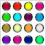 di bottoni colorati Multi Immagini Stock Libere da Diritti