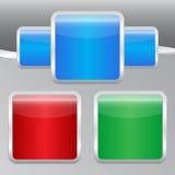 di bottoni colorati Multi Immagini Stock