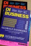 DI BUSINESS MAGAINE Royalty Free Stock Photo