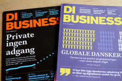 DI BUSINESS MAGAINE Stock Images