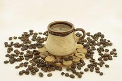 Di caffè della tazza vita ancora Immagini Stock Libere da Diritti