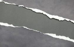 Di carta violento con copyspace grigio Immagine Stock