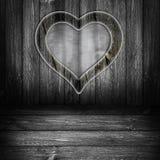 Di cartello di legno del fondo grigi Immagini Stock