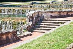 Di Caserta - Itália de Reggia foto de stock royalty free