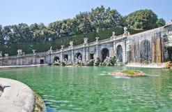 Di Caserta - Italia de Reggia foto de stock royalty free