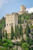 Di Castello Arco - Arco Castle Στοκ Εικόνες