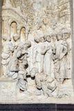 Di Павия Италия Certosa, историческая церковь стоковое фото