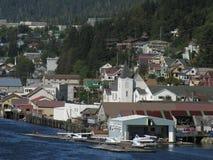 Di charter e giri, Ketchikan, Alaska Fotografia Stock Libera da Diritti