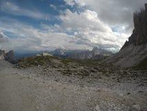 Di cime tre Lavaredo zdjęcia stock