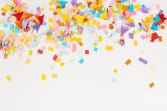di coriandoli colorati Multi da carta fotografie stock libere da diritti