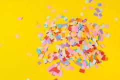 di coriandoli colorati Multi da carta fotografia stock libera da diritti