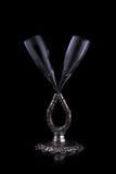 Di cristallo Fotografie Stock Libere da Diritti