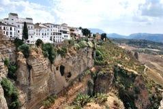 Di de Città Ronda - Spagna Images stock