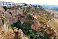 Di de Città Ronda - Spagna Photos libres de droits