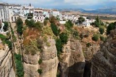 Di de Città Ronda - Spagna Images libres de droits