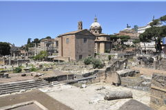 Di de Foro Nerva - Rome Photos libres de droits