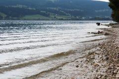` di de Joux della bacca del ` alle alpi svizzere Fotografia Stock Libera da Diritti