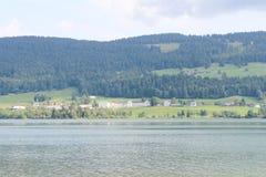 ` di de Joux della bacca del ` alle alpi svizzere Fotografie Stock