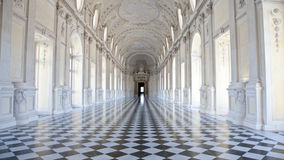di Diana galleria Italy pałac królewski venaria Zdjęcia Stock
