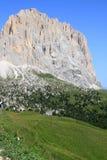 di Dolomit włoski passo sella widok Fotografia Royalty Free