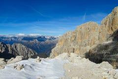 Di Dolomiti brenta Zdjęcie Stock