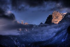 Di Dolomiti brenta obraz royalty free