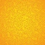 Di dourados abstratos eletrônicos da placa de circuito do vetor Fotografia de Stock Royalty Free