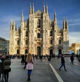 di Duomo Milano fotografia royalty free