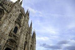 di Duomo Milano koloru córek wizerunku matka dwa Zdjęcie Stock