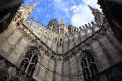 di Duomo Milano Widok od dachu Duomo Obrazy Stock