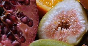 Di estremo della cima vista alta vicina giù dei frutti sani e organici Fotografia Stock Libera da Diritti
