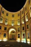Di Ferrare - théâtre de comunale de Teatro de ville Photographie stock libre de droits