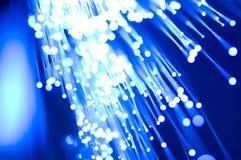 Di fibra ottica Immagini Stock