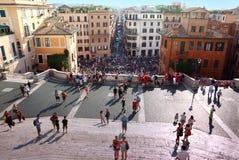 di folk piazzaspagna Arkivbild