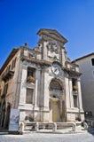 di Fonte piazza spoleto Umbria Zdjęcie Royalty Free