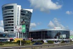` Di formato del ` del centro commerciale e ` di Volkovsky del centro di affari sul viale olimpico Immagine Stock Libera da Diritti