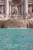 di fountain trevi 图库摄影