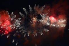di fuochi d'artificio colorati Multi Fotografie Stock Libere da Diritti