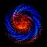 Di galassia a spirale colorata multi del fondo astratto Fotografie Stock Libere da Diritti