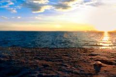 di garda lago Arkivfoto