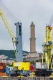 Di Genova di Lanterna Fotografia Stock Libera da Diritti