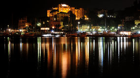 di Genova Italia lungomare rapallo Fotografia Royalty Free