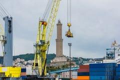 di Genova lanterna Fotografia Royalty Free