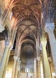 Di Gesu de Chiesa del Sacro Cuore de Gallipoli Puglia, Itália Fotografia de Stock