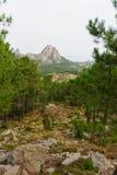 Di Ghjaddu di Cascade de Piscia Fotografie Stock
