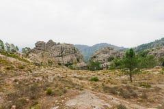 Di Ghjaddu di Cascade de Piscia Fotografia Stock