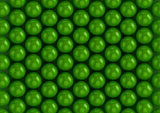 Di gomma da masticare verdi Fotografie Stock