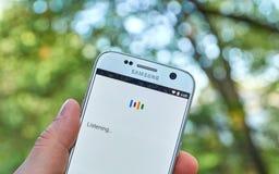 Di Google lanciatore app ora Fotografia Stock Libera da Diritti