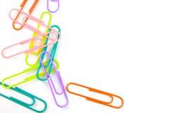 Di graffette di carta e colorate multi Fotografia Stock